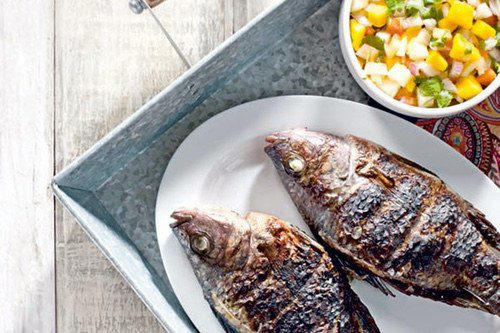 Easy Grilled Stuffed Tilapia Recipe Ang Sarap Recipes