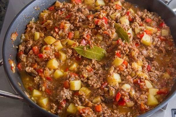 Easy Beef Picadillo Recipe Ang Sarap Recipes